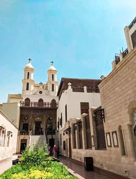 Cairo Hanging Church Front