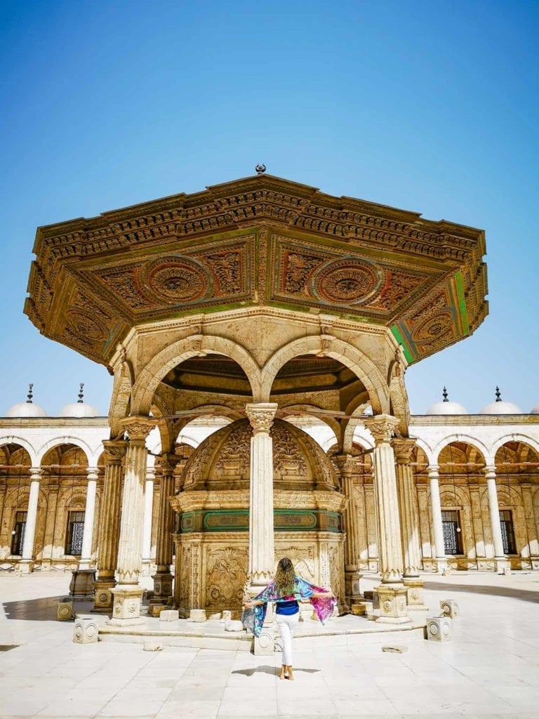 the Mosque of Muhammad Ali Cairo