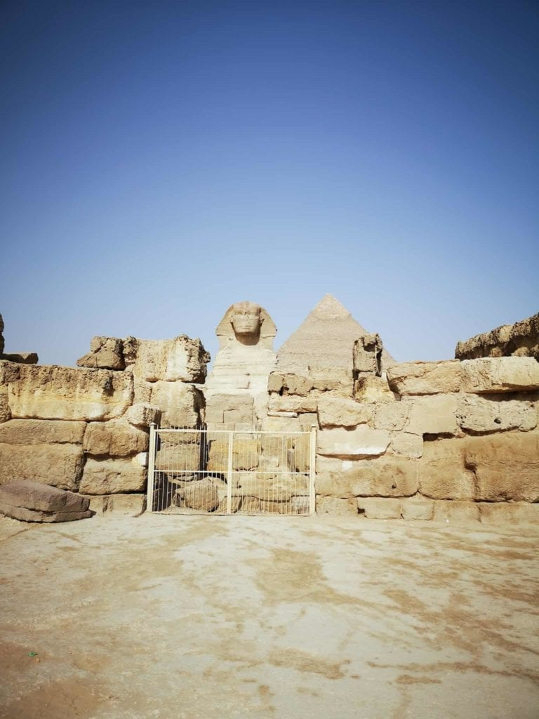 Cairo Egypt Sphinx Entrance
