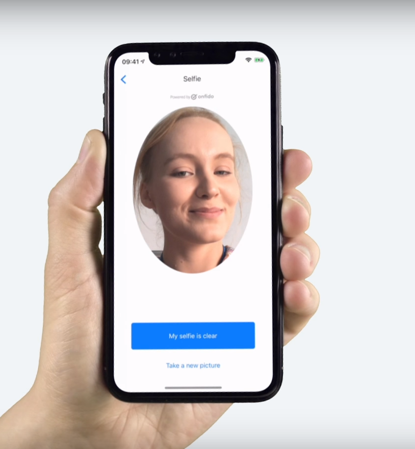 Revolut: Signup process, How to verify my identity within the selfie