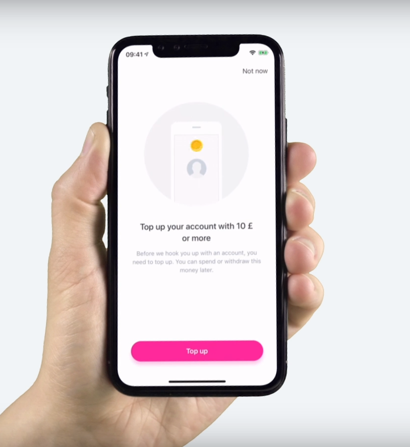 Revolut Signup process: How to top up your Revolut account