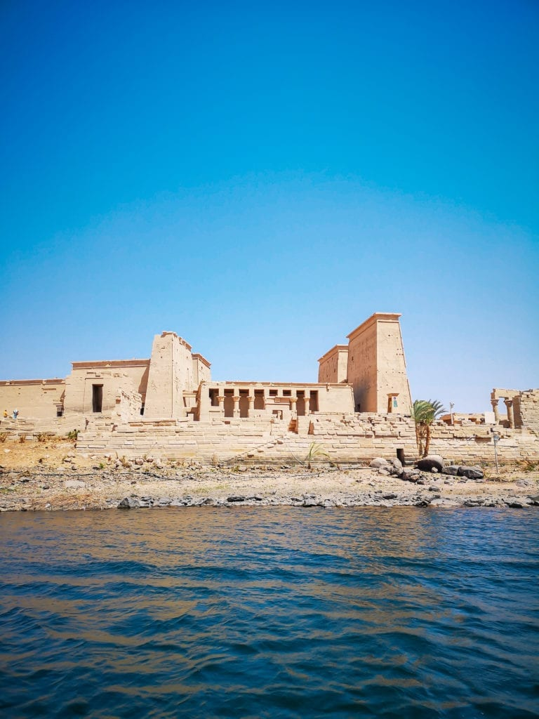 top egypt travel itinerary access to the philae temple on the water, visit in the morning