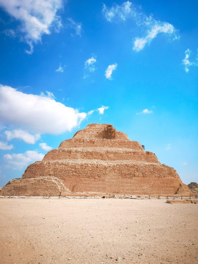 best Egypt travel guide, the step pyramid of sakkara, first pyramid