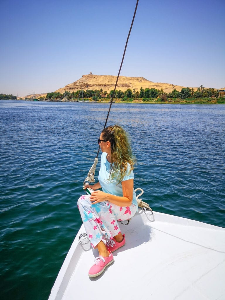 Egypt travel itinerary must do: explore the Nile in a felucca