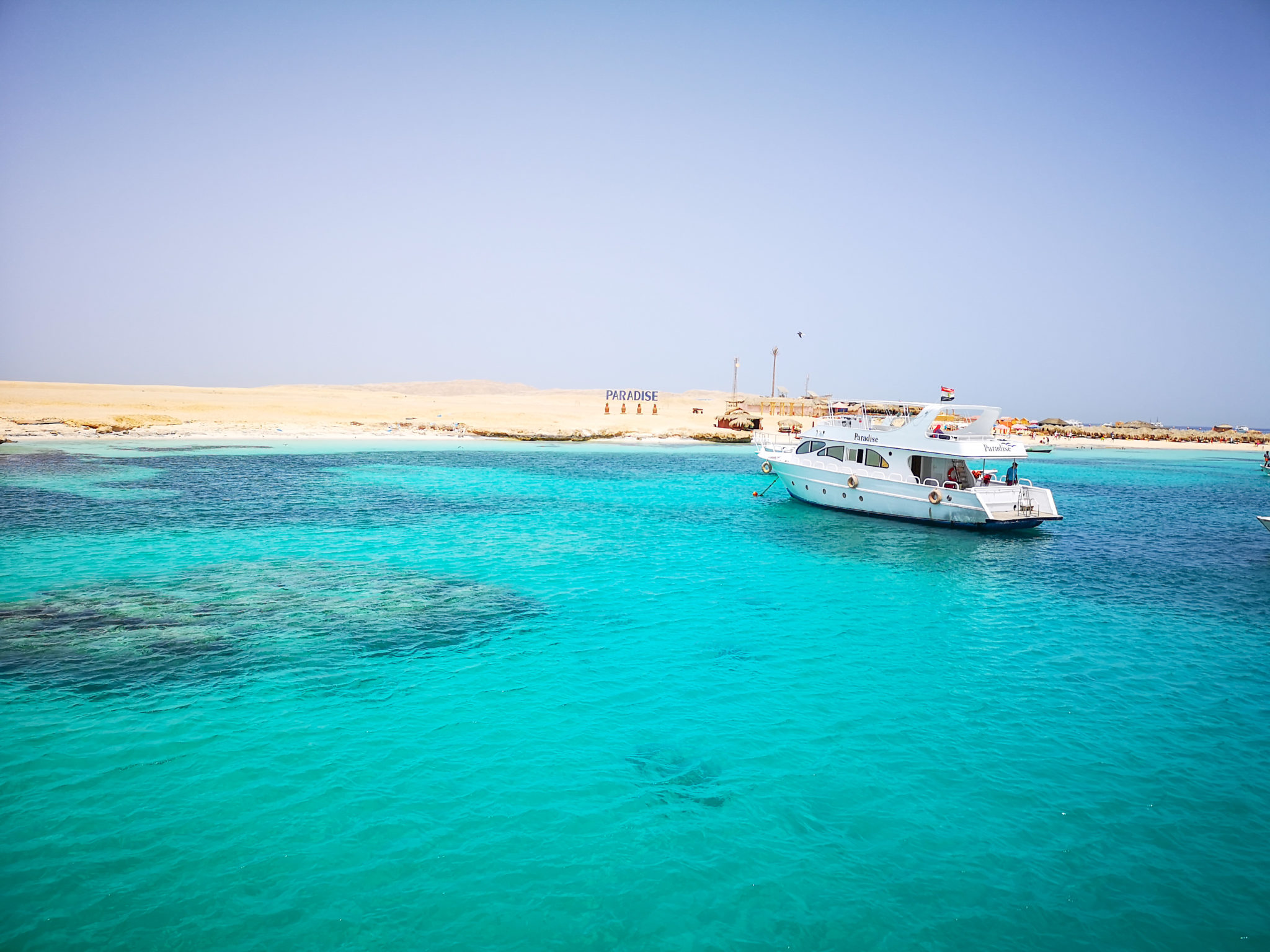 Egypt travel guide sea itinerary giftun island paradise beach