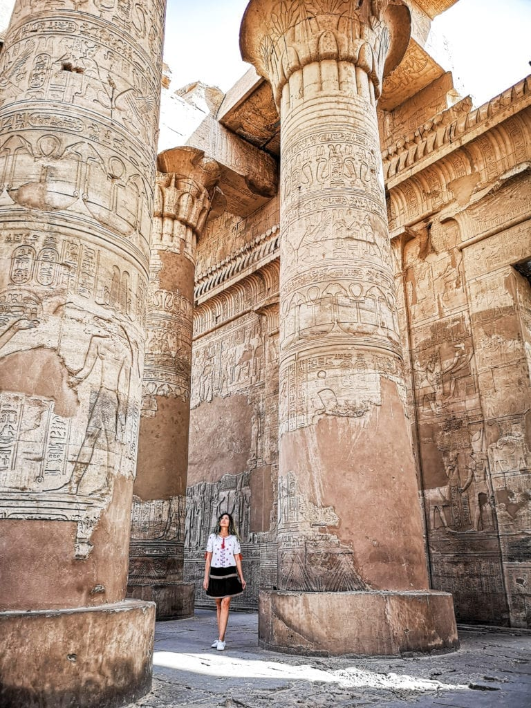 best egypt itinerary the temple of kom ombo, also visit the crocodile museum to see crocodile mummies