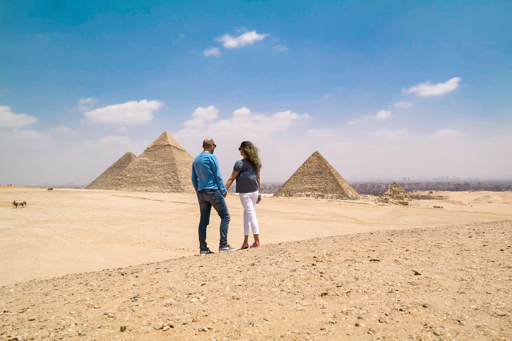 Best Egypt Travel Guide Giza Plateau Pyramids Cairo View