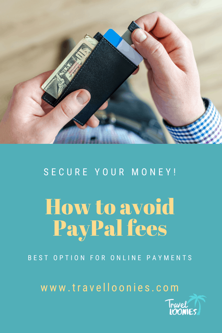 How to avoid PayPal fees Pinterest