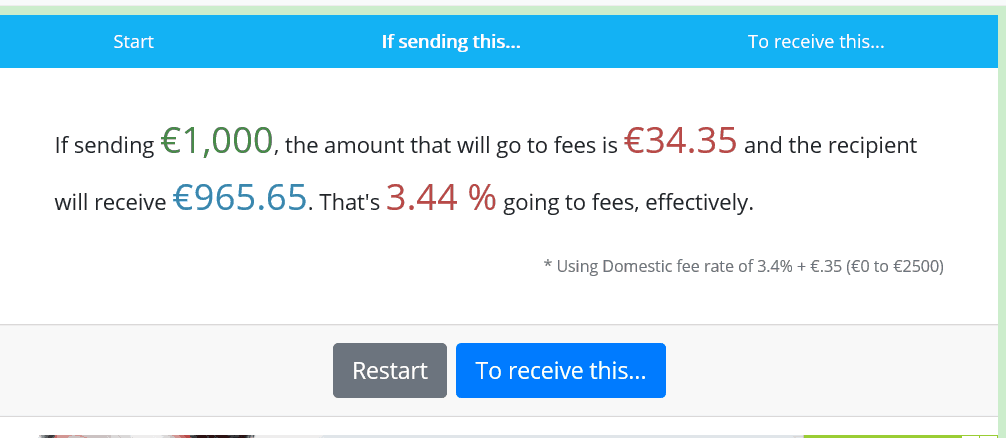 How to avoid PayPal fees - fees calculator for sending money