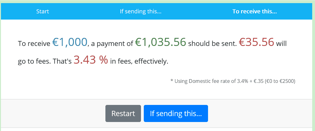 How to avoid PayPal fees - fees calculator for receiving g money