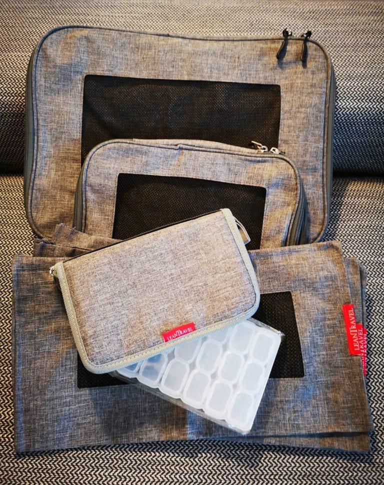 A must be on your holiday packing list: The Lean Travel Packing Cubes always useful when preparing our vacation. do not miss them from our holiday packing list