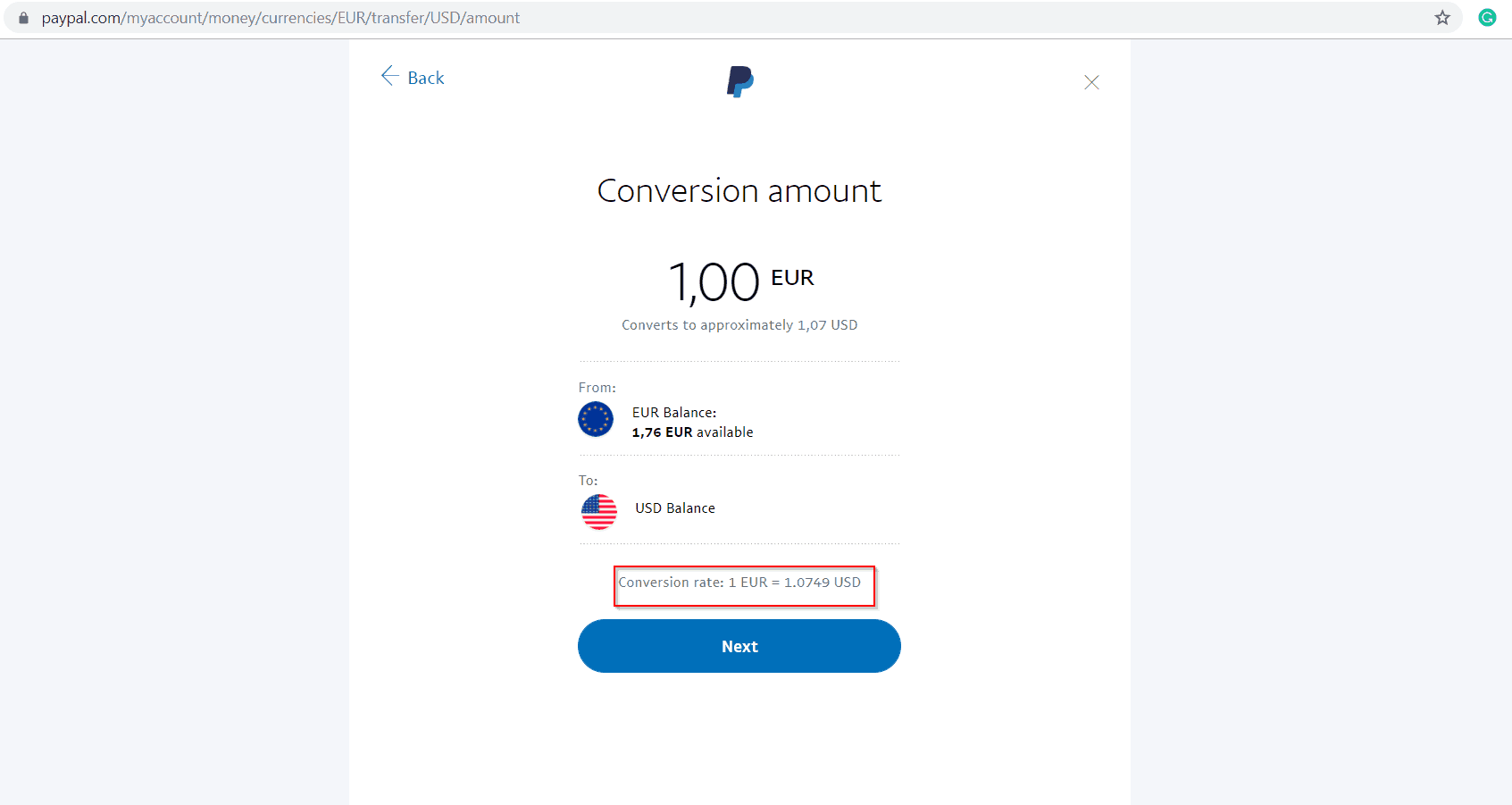 How to avoid Paypal Fees - Paypal conversion rate