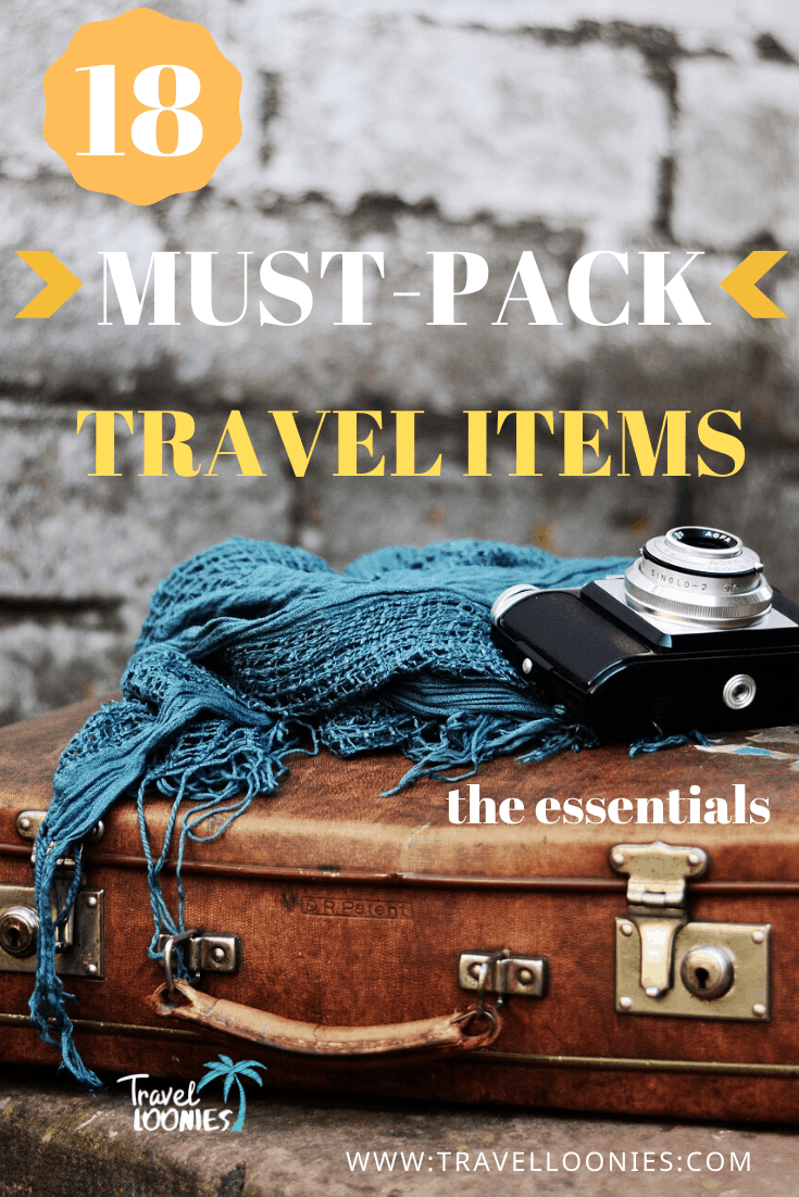 You have doubts making your holiday packing list: GuideMust pack travel items